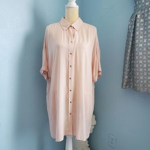 💥NWT Chico's button front w pockets shirt/top B3
